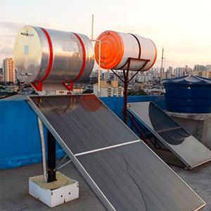 Estrutura para Aquecimento Solar