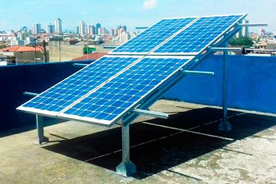 Estruturas para Painéis Fotovoltaicos