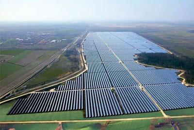 Estruturas para Usina de Geração de Energia Solar