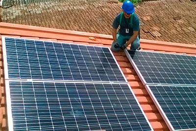 Estruturas para Usina Fotovoltaica