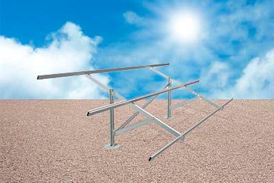 Suporte para Fixação de Sistemas Fotovoltaicos em Solo